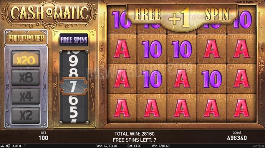 Cash-O-Matic Gameplay Casino