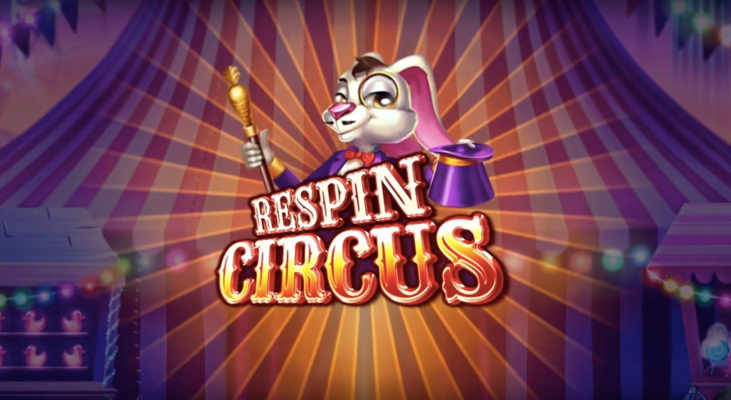 Respin Circus Logo Slot