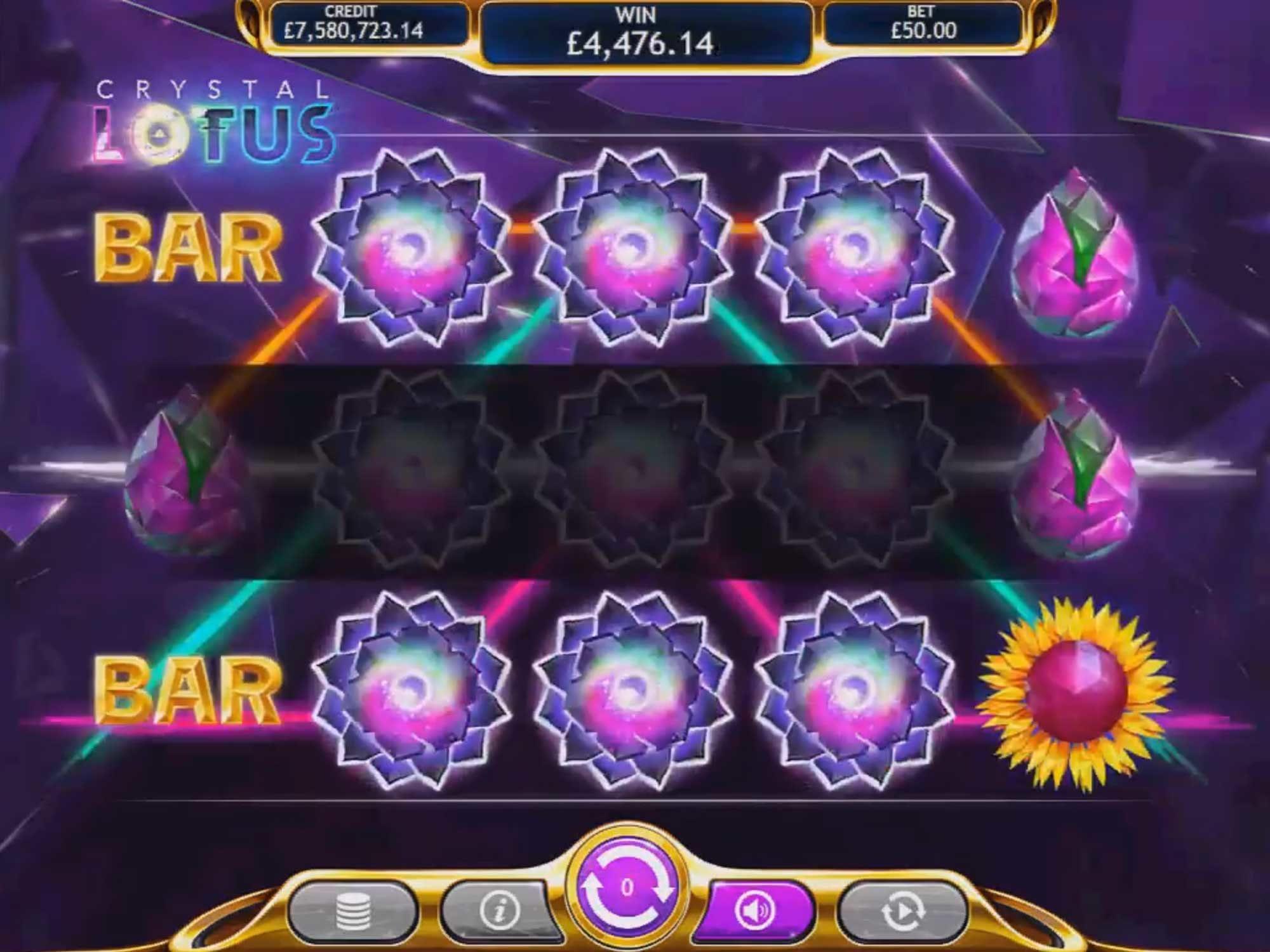 Crystal Lotus Casino Gameplay