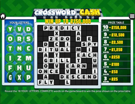 Crossword Cash - Play Slots & Online Bingo at Barbados Bingo