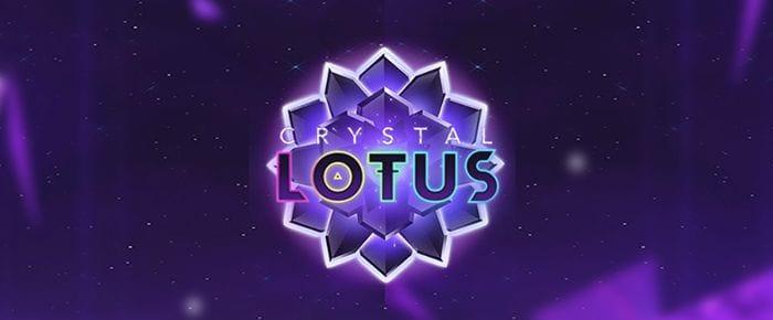 Crystal Lotus Logo Slot