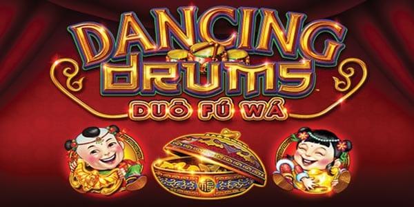 Dancing Drums Logo Slot