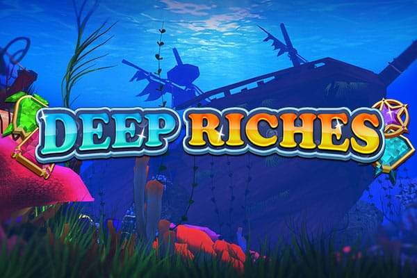 Deep Riches slot game logo