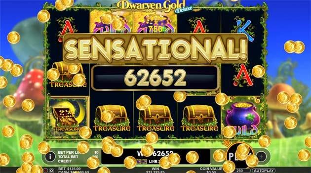 dwarven gold deluxe online slots
