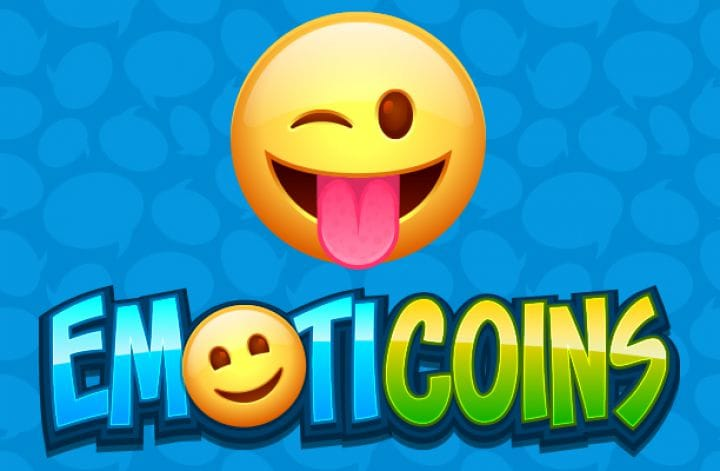 Emoticoins video slot Logo