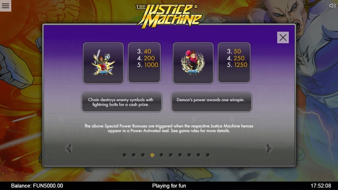 slots justice machine casino
