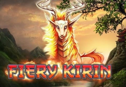 Fiery Kirin Slot Logo