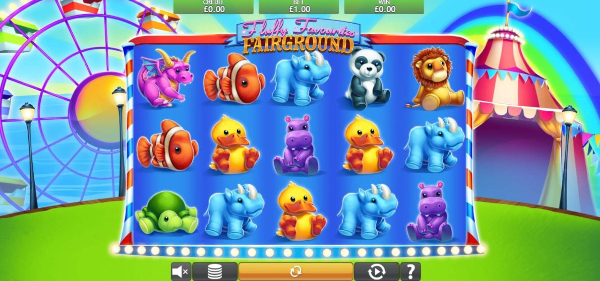 Fluffy Favourites Fairground Gameplay