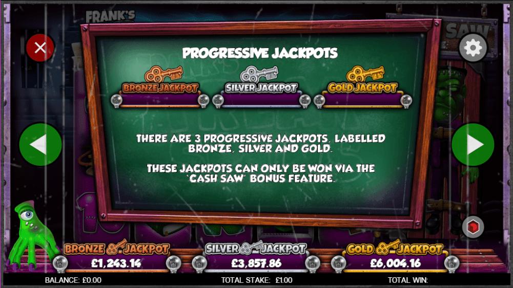 online casino play slots franks freak spins