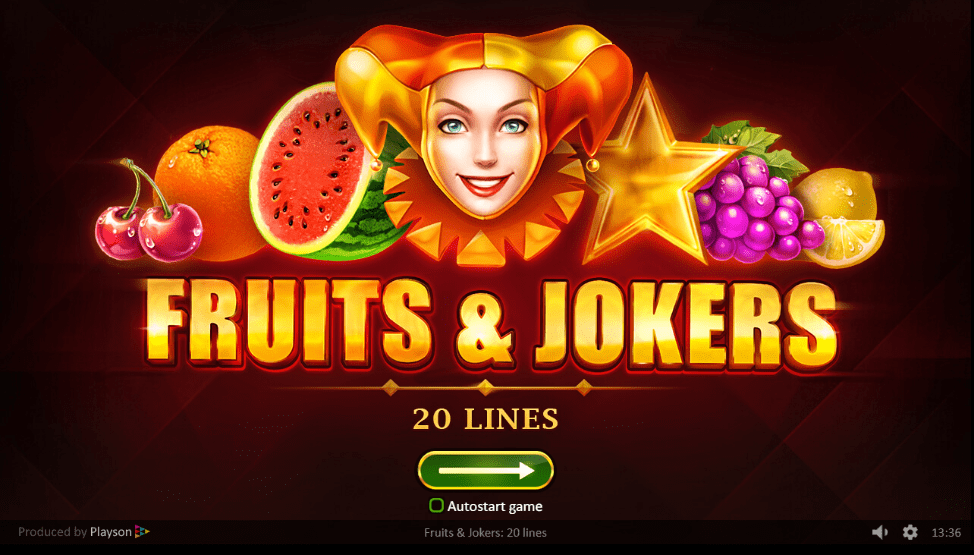 fruit jokers slots online