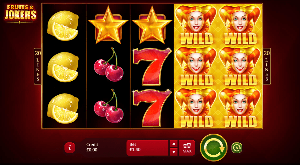 fruits jokers casino online