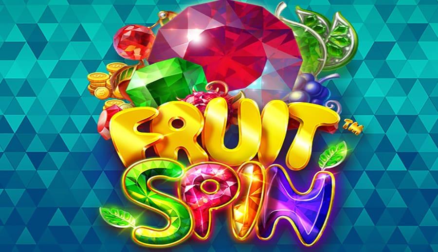 Online slot fruit spin logo