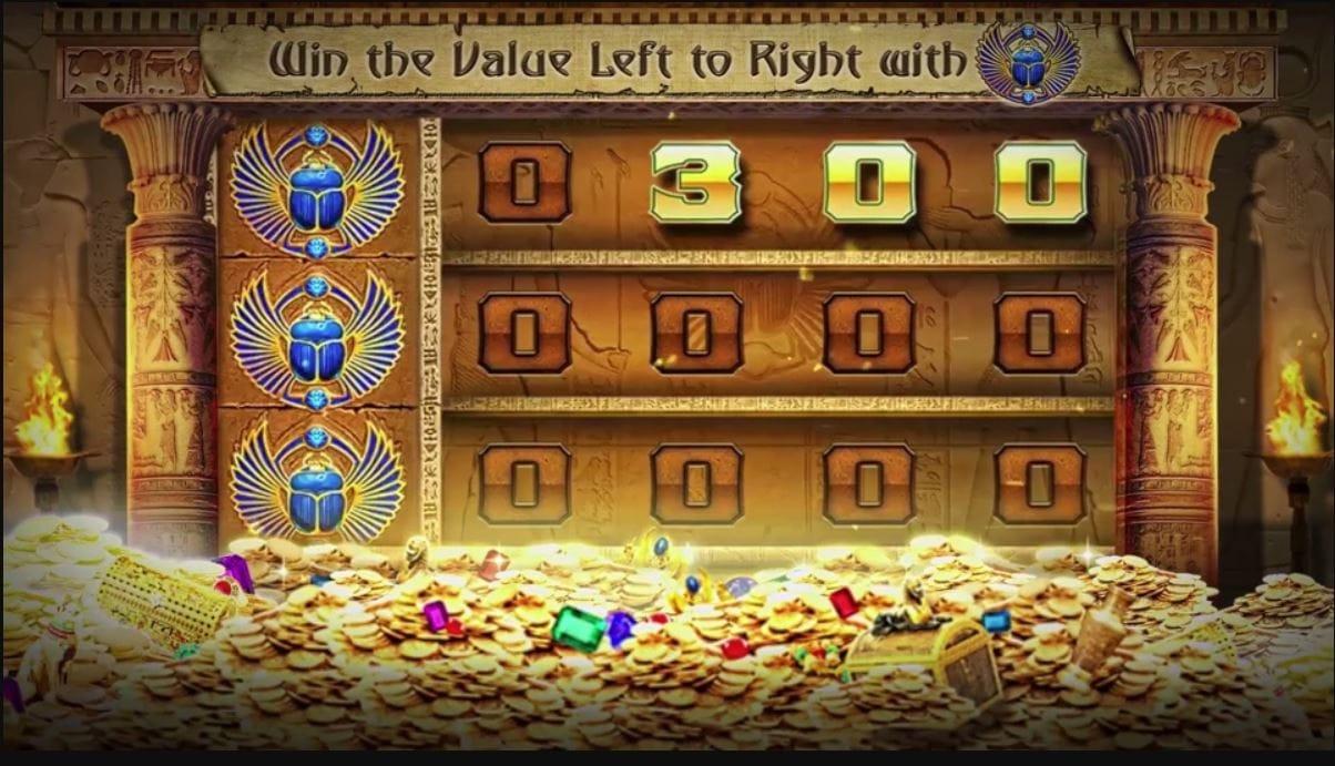 golden vault of the pharaohs online slot