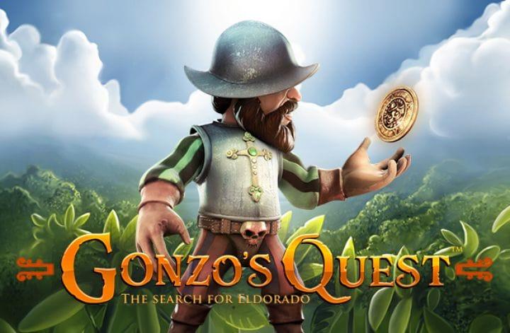 Gonzo's Quest Online Slot Logo
