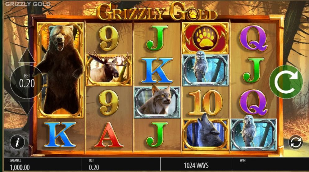 Grizzly Gold Casino Gameplay