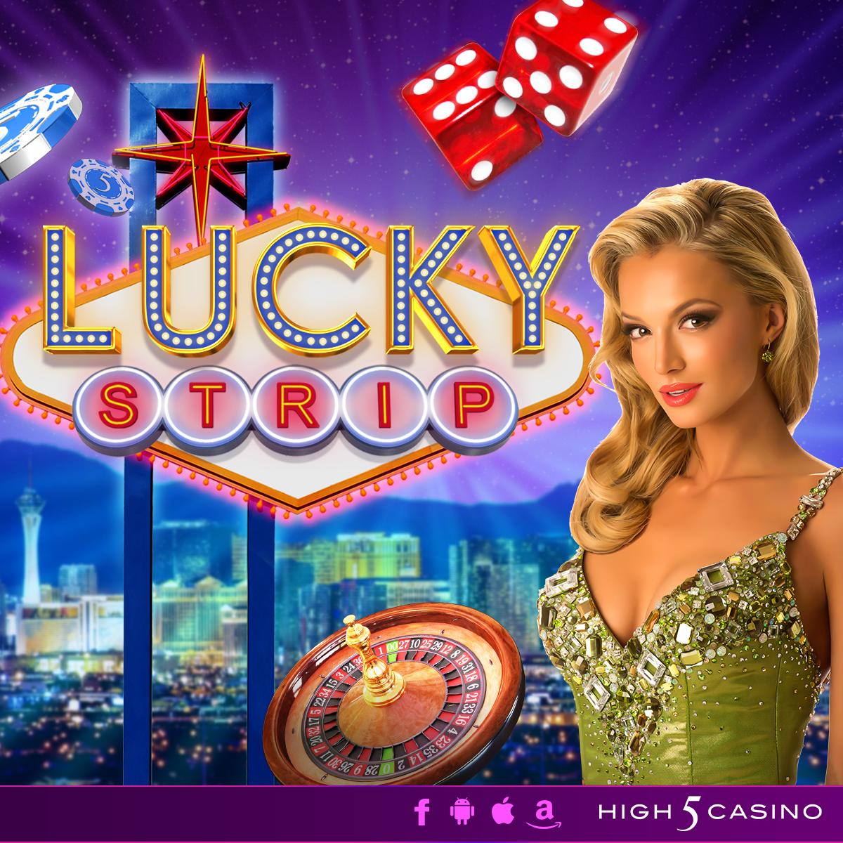 Lucky Strip Slot Logo