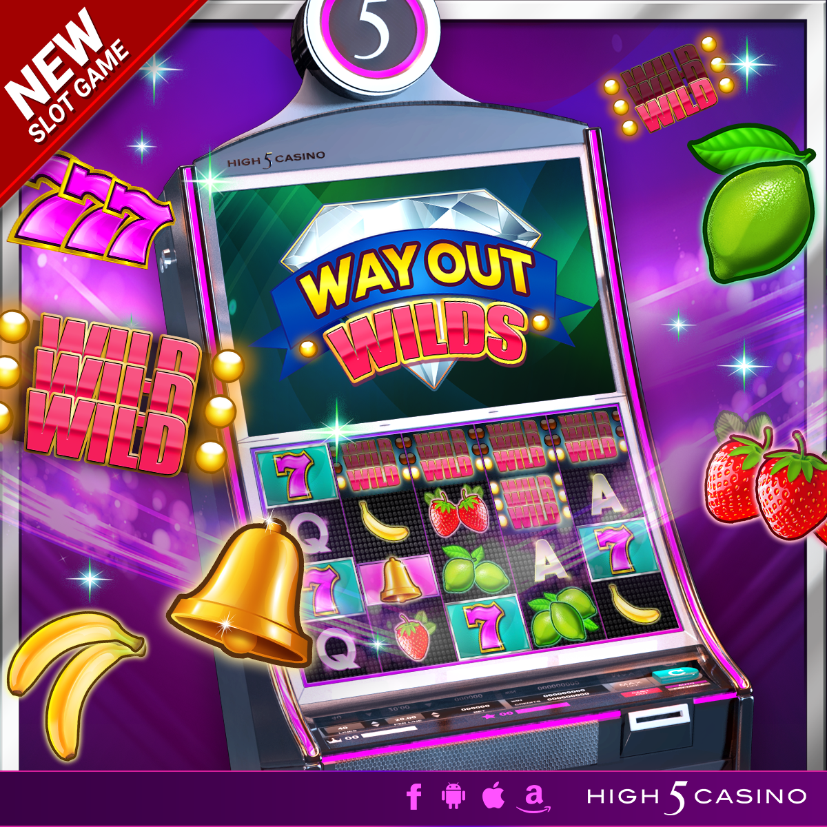 Way Out Wilds gameplay casino