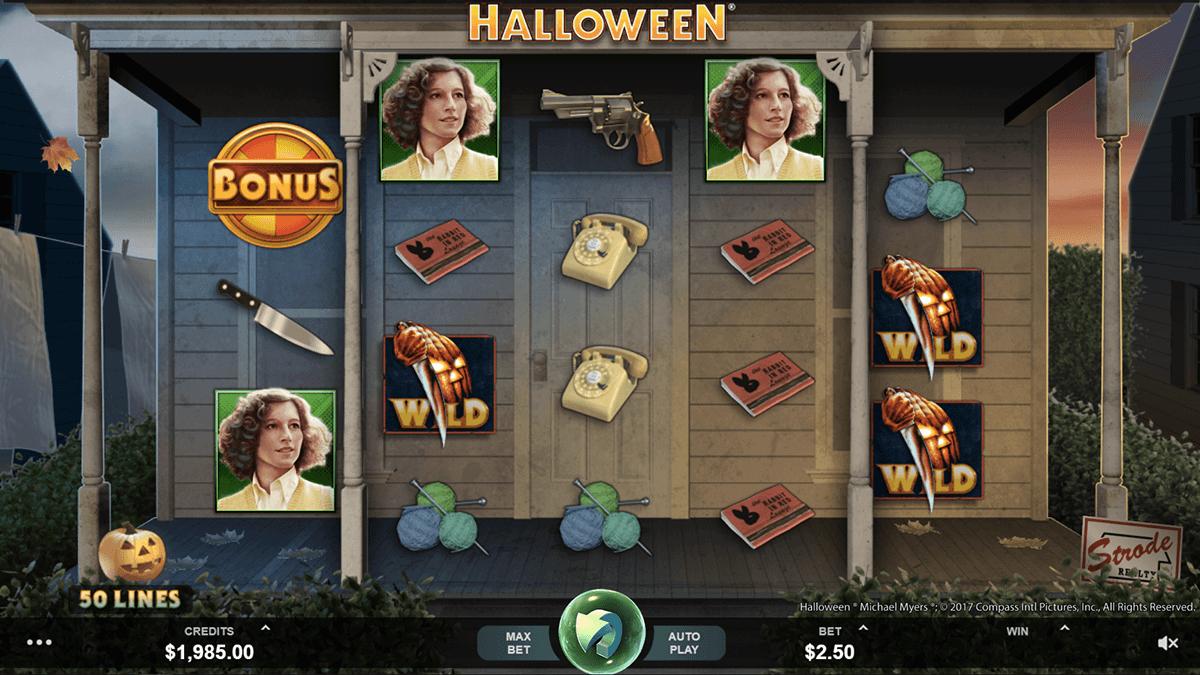 halloween slot online game play wins