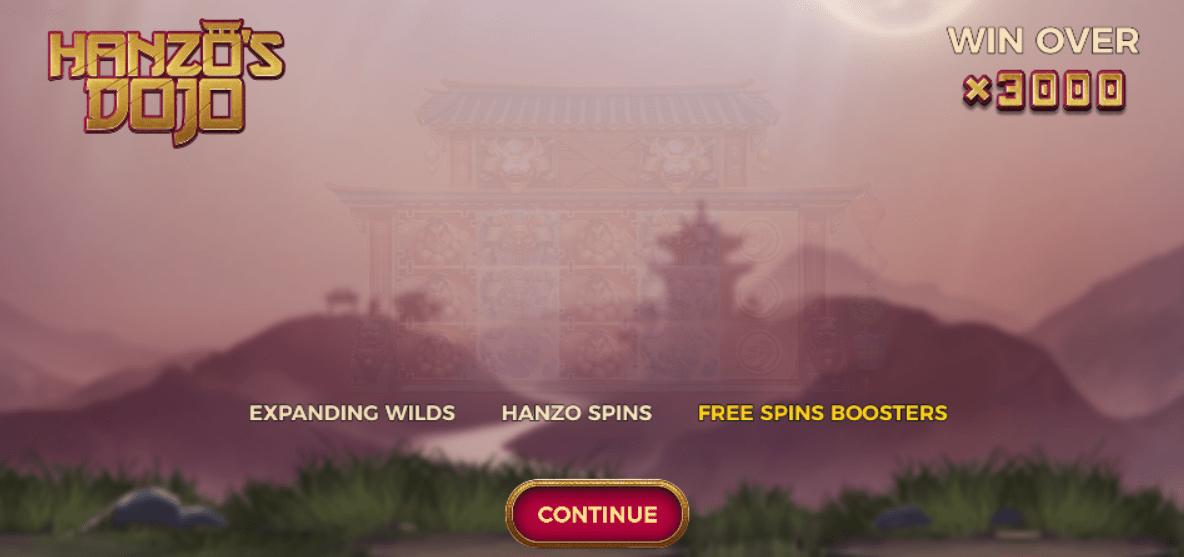 hanzos dojo game spins slots