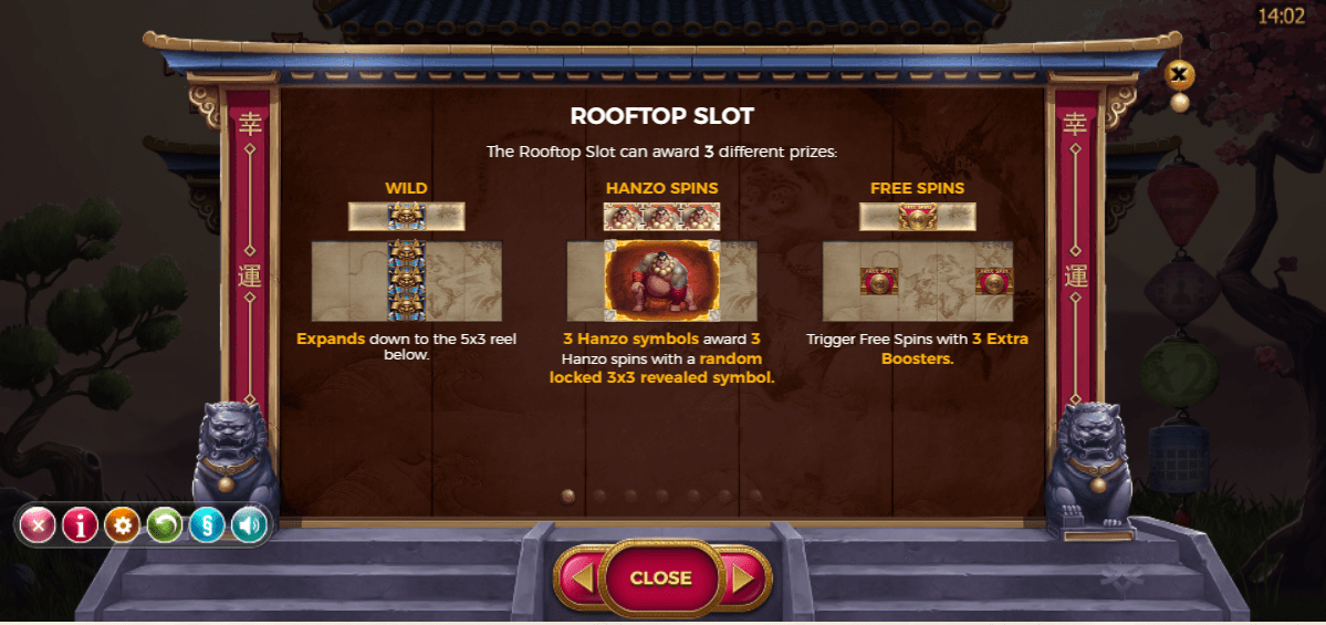 hanzos dojo online game