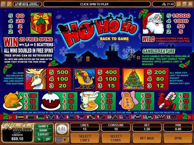 Ho Ho Ho Symbols