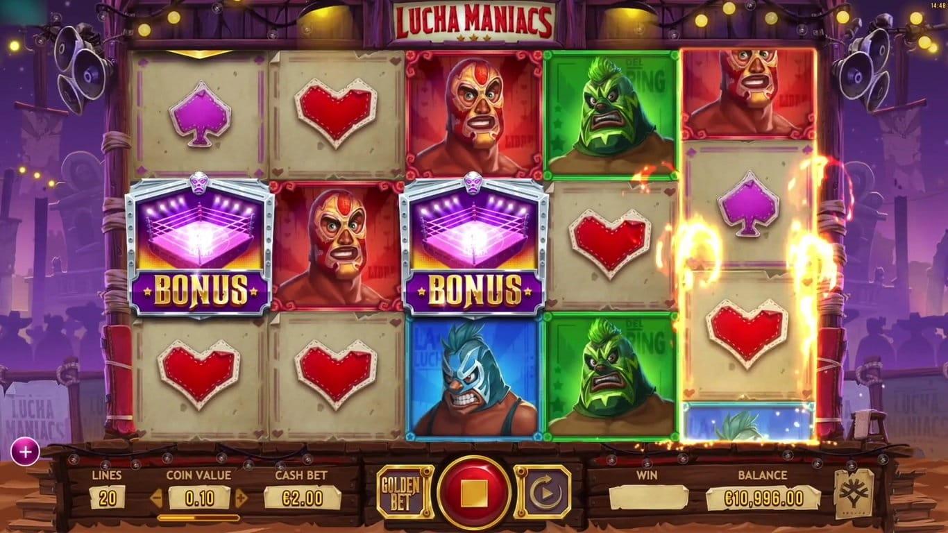lucha maniacs online play