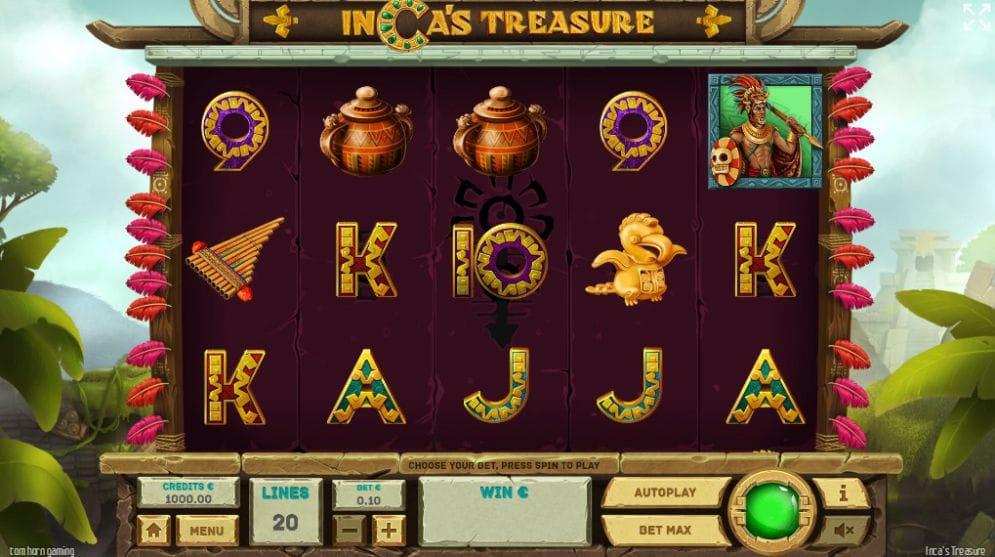 Inca's Treasure Casino Gameplay