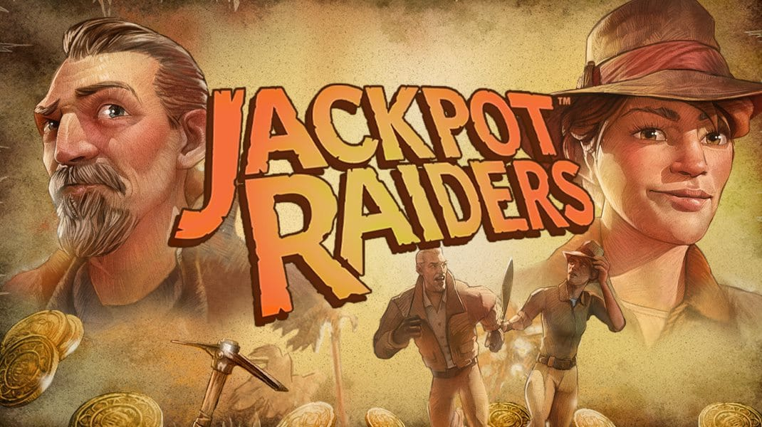 Jackpot Raider Slot Logo