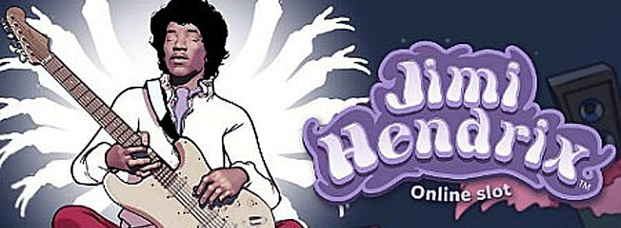 Jimi Hendrix Online Slot Logo