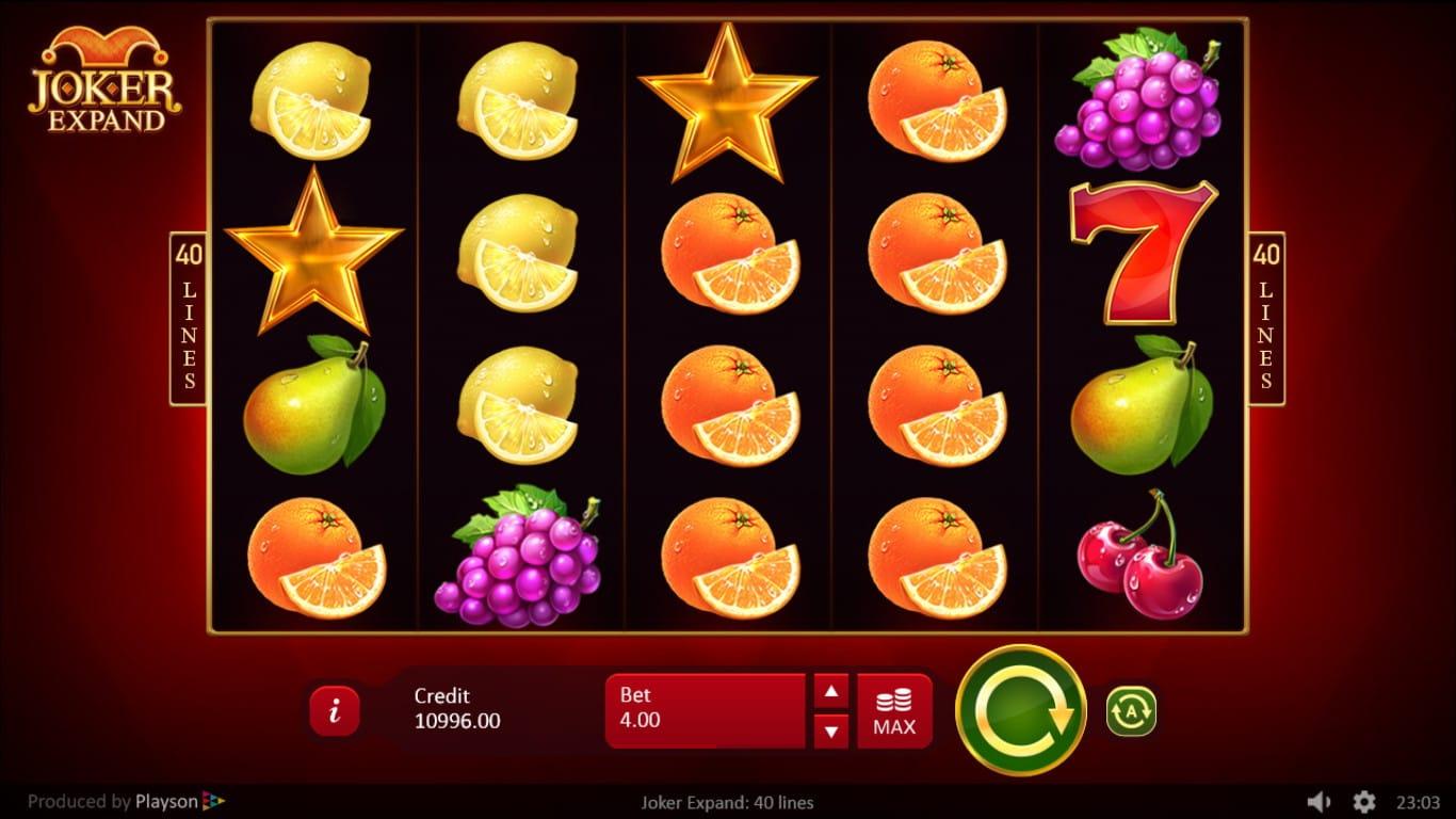 joker expand online casino game wins