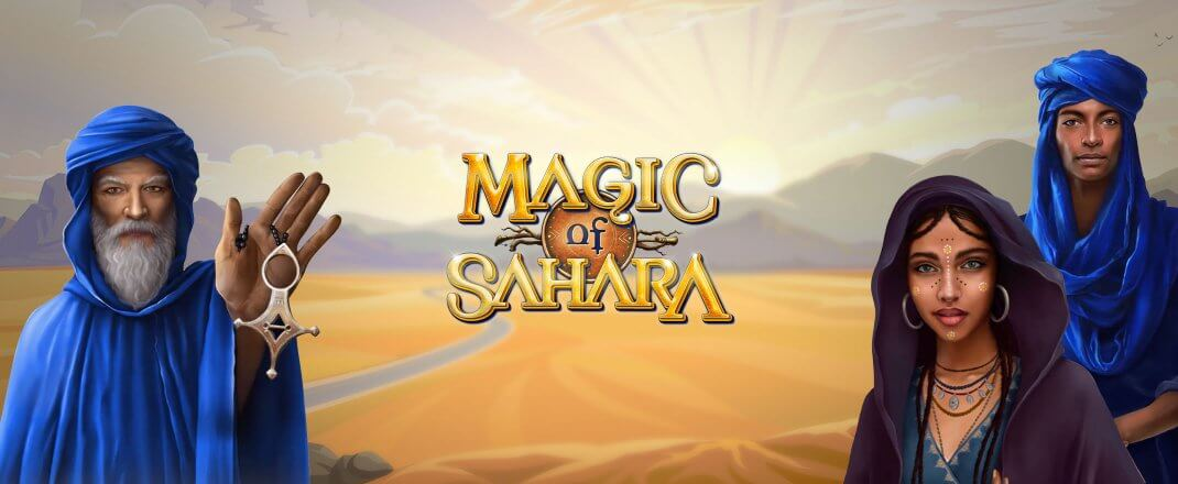 Magic Sahara Slot Logo
