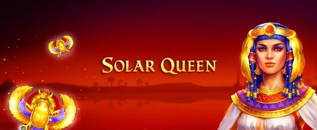 Solar Queen Logo Slot