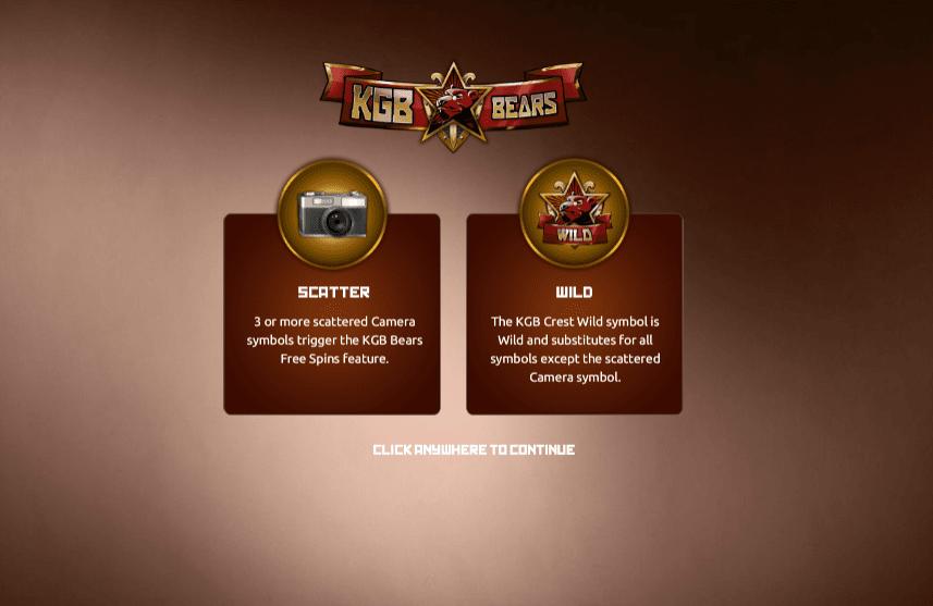 kgb bears slots play