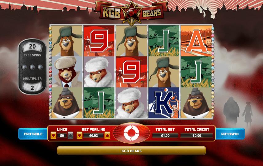kgb bears play slots