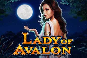 Lady of Avalon Slot Logo