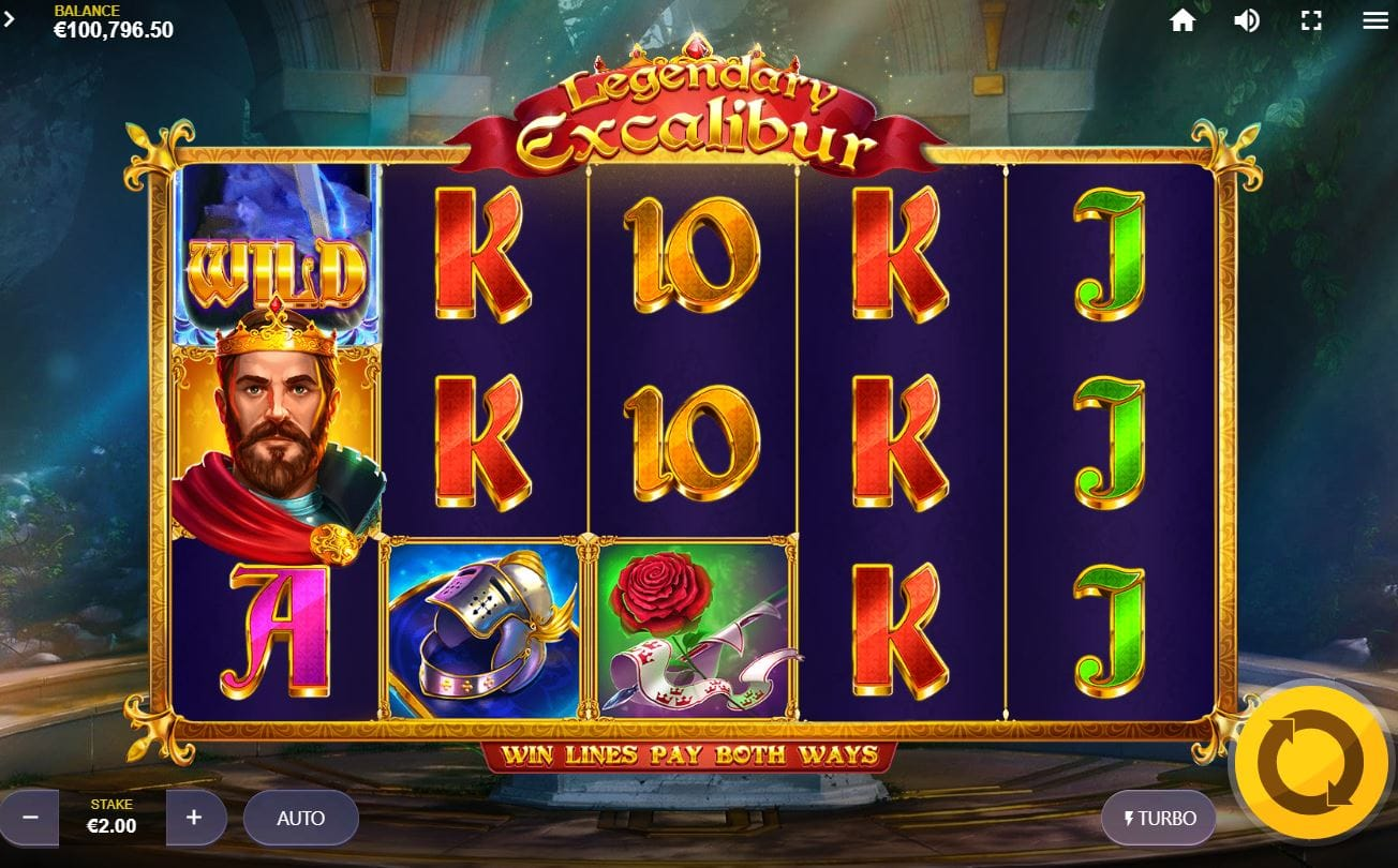 Legendary Excalibur Casino Game