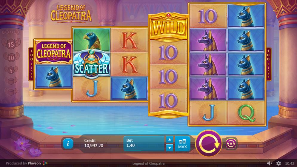 Legends of Cleopatra gameplay