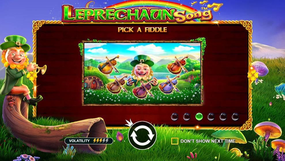 leprechaun song game