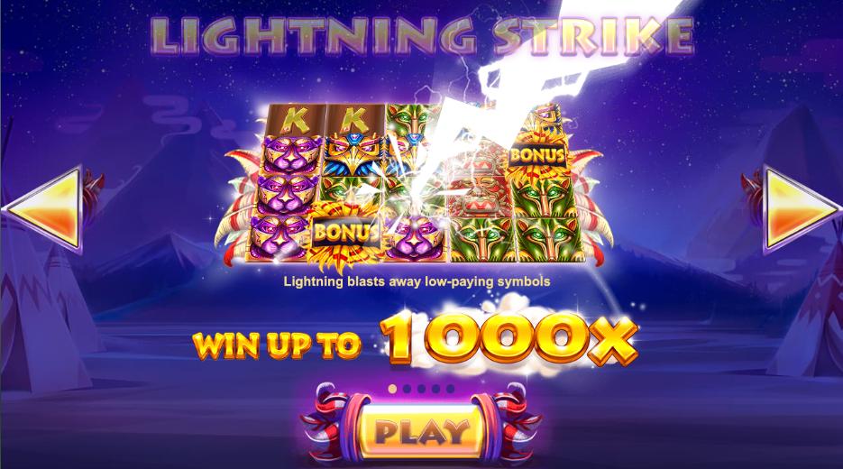 lightning totem slots spins