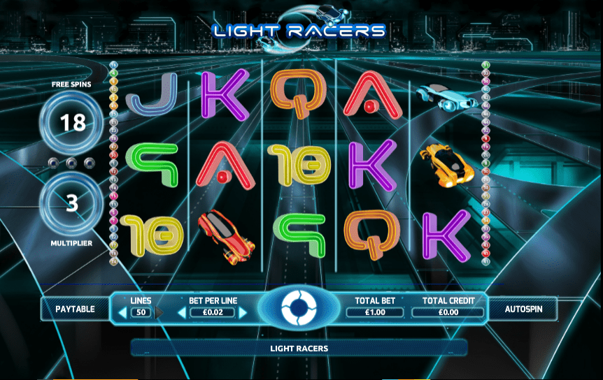 light racers casino game