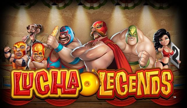 lucha legends logo slots