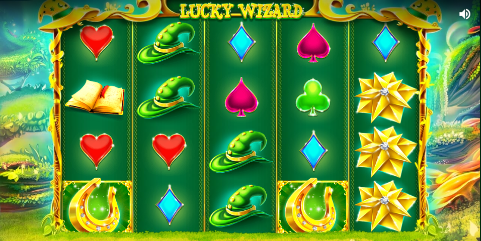 lucky slots spins wizard