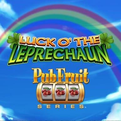 Luck O' the Leprechaun Casino Game Logo