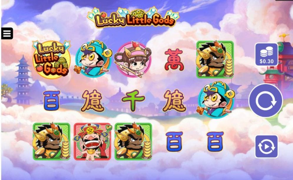 Lucky Little Gods gameplay