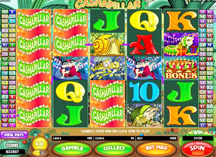cashapillar game online