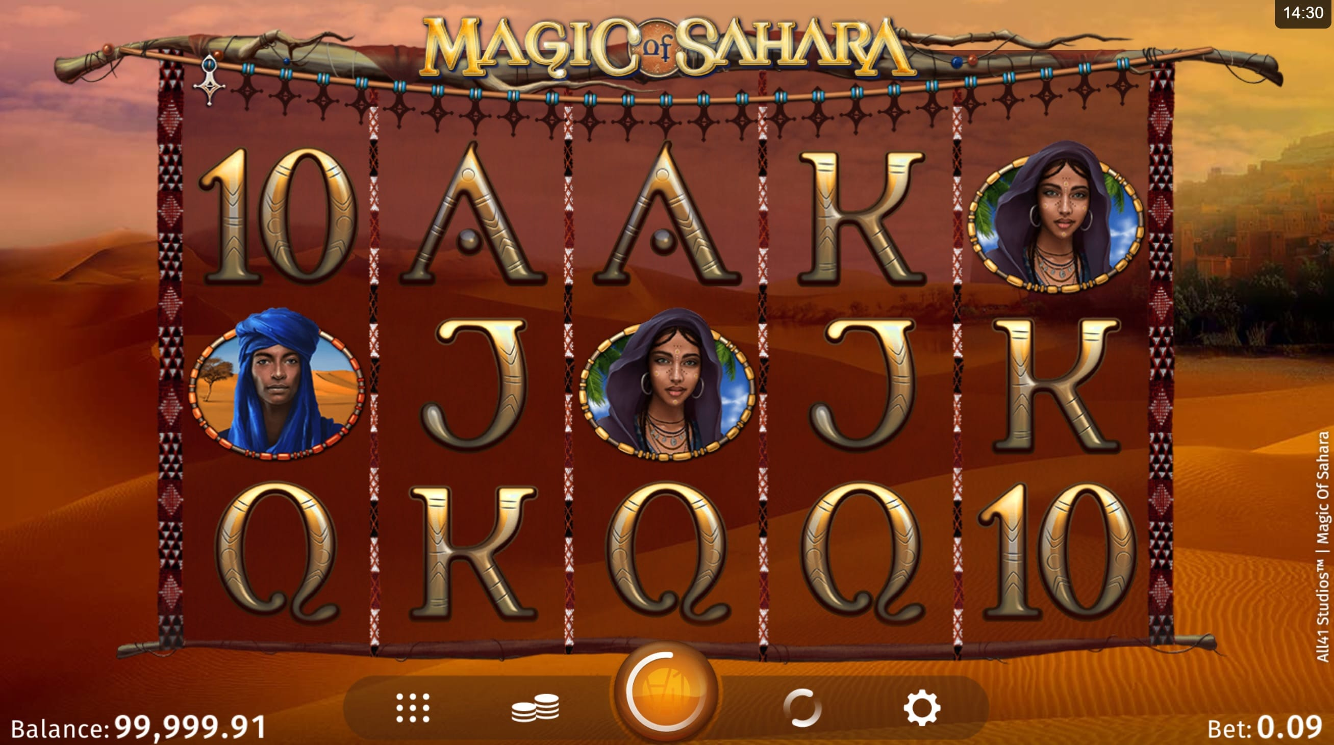Magic Sahara Casino Gameplay