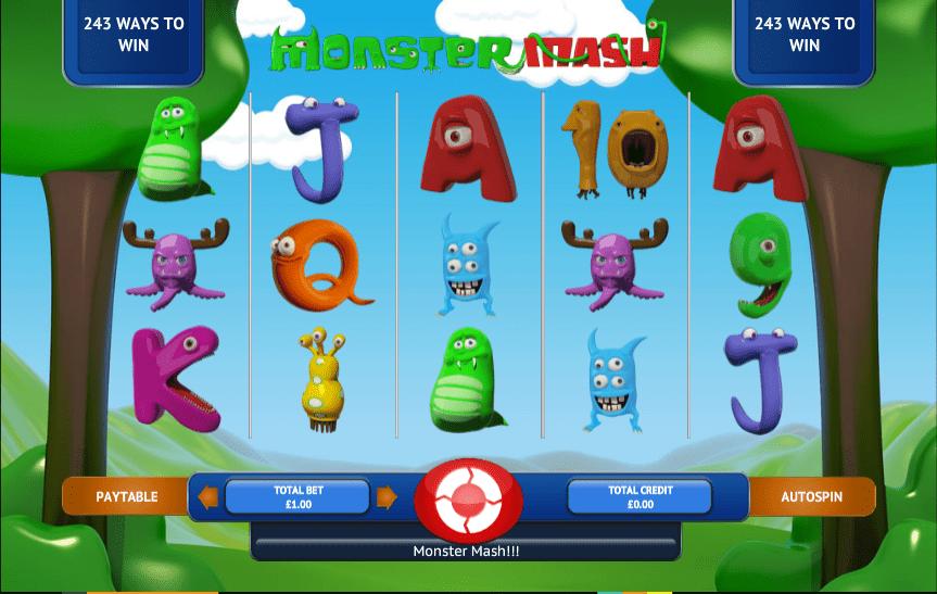 mash online monster casino