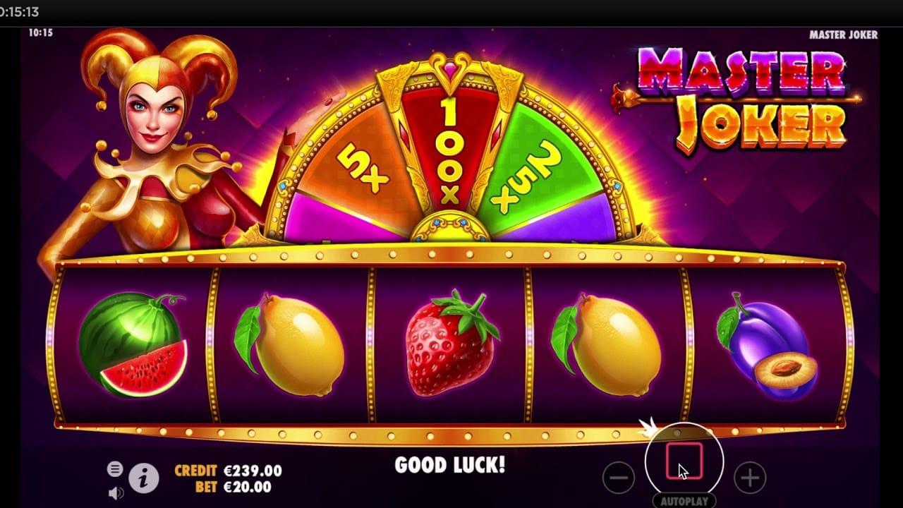 Master Joker Slots Barbados Bingo