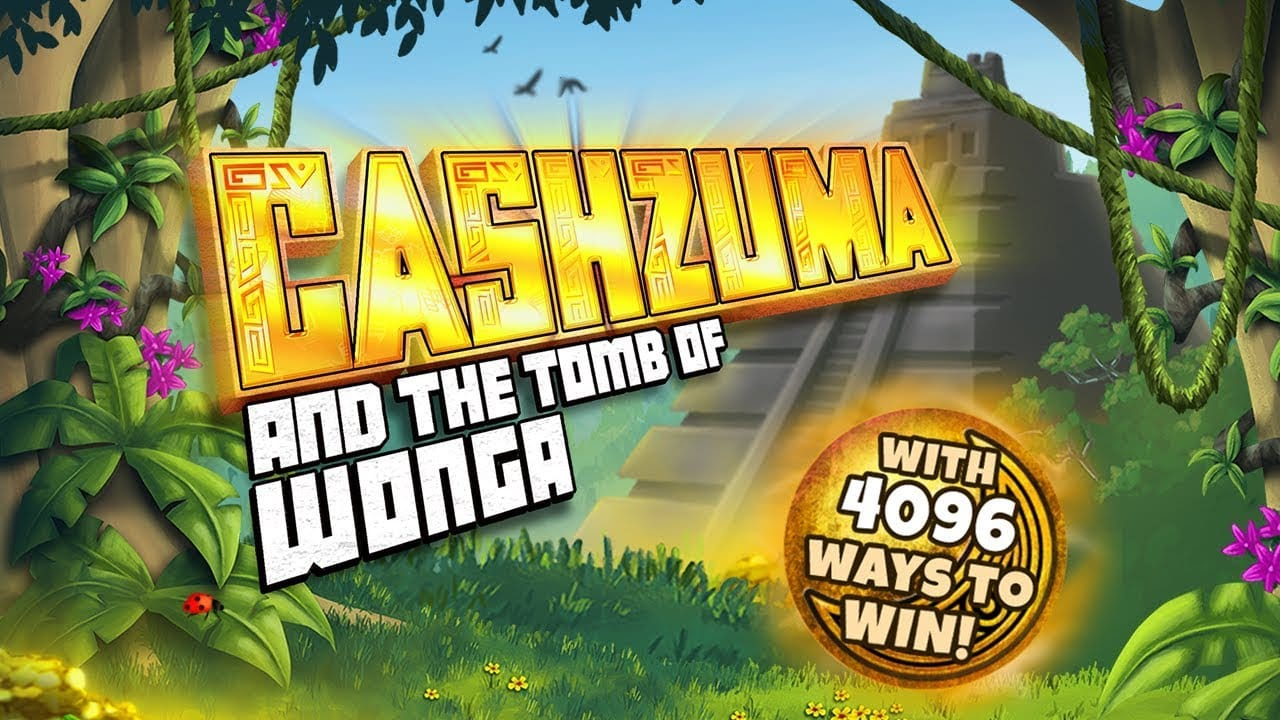 Cashzuma and the Tomb of Wonga Slot Logo