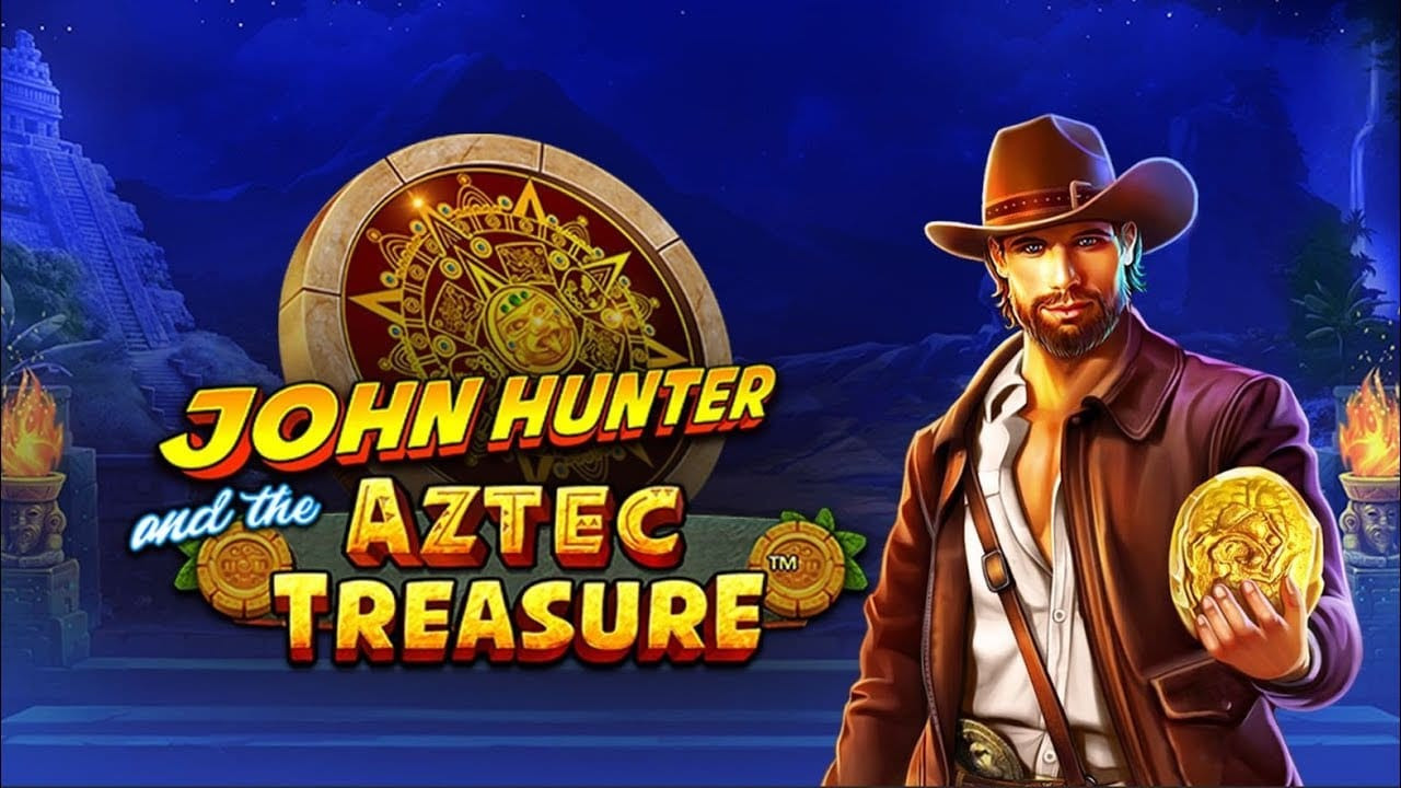 John Hunter and the Aztec Treasure Slot Logo